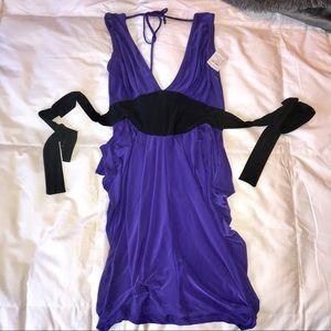Stretch Plunge Dress